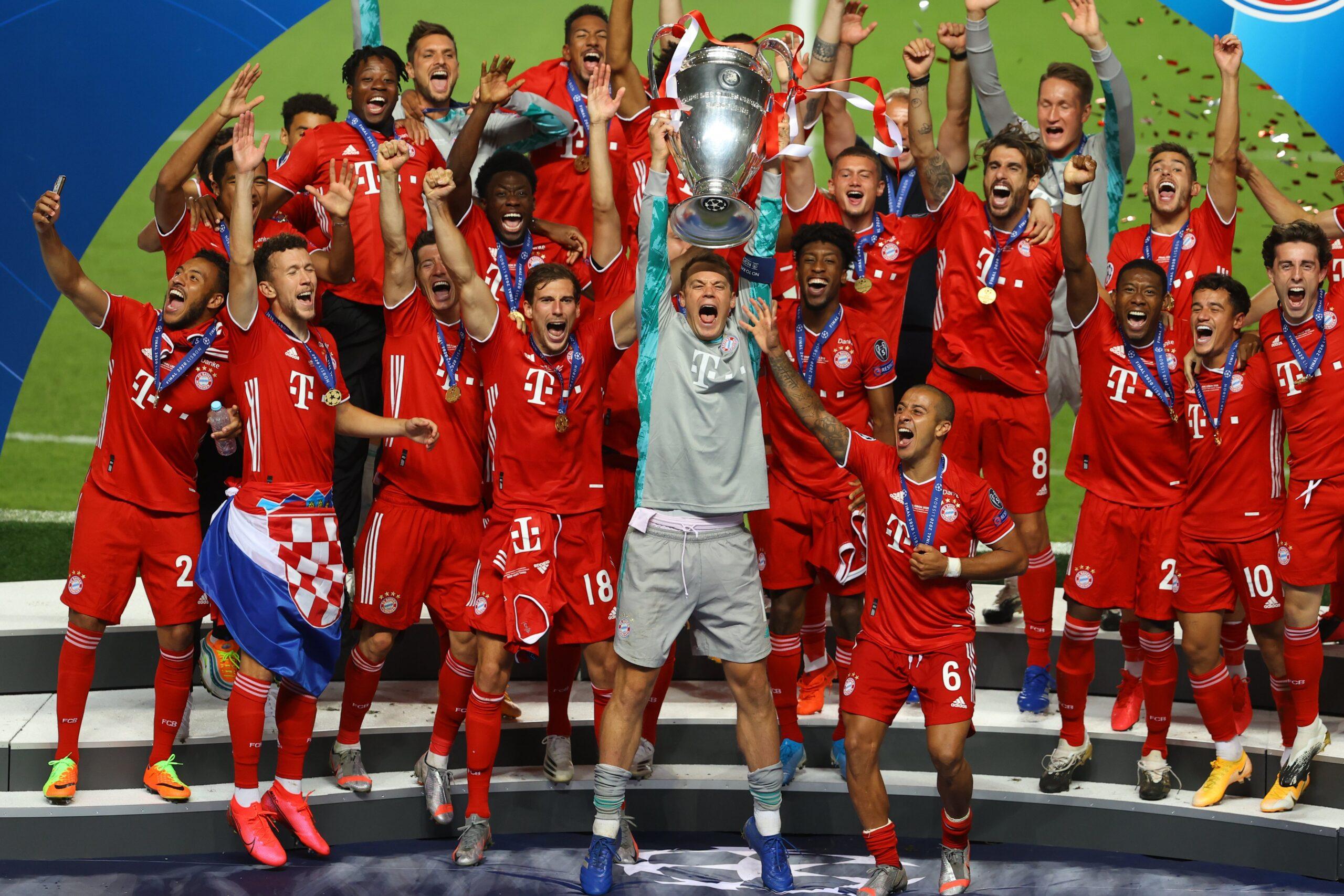 FC Bayern Munich won the Uefa Champions League