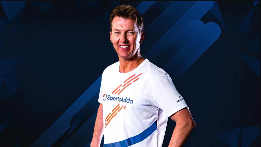 Former Australia cricketer Brett Lee became SportsAdda's brand Ambassador