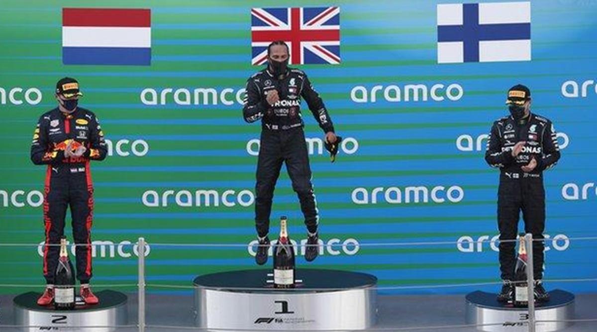 Lewis Hamilton won