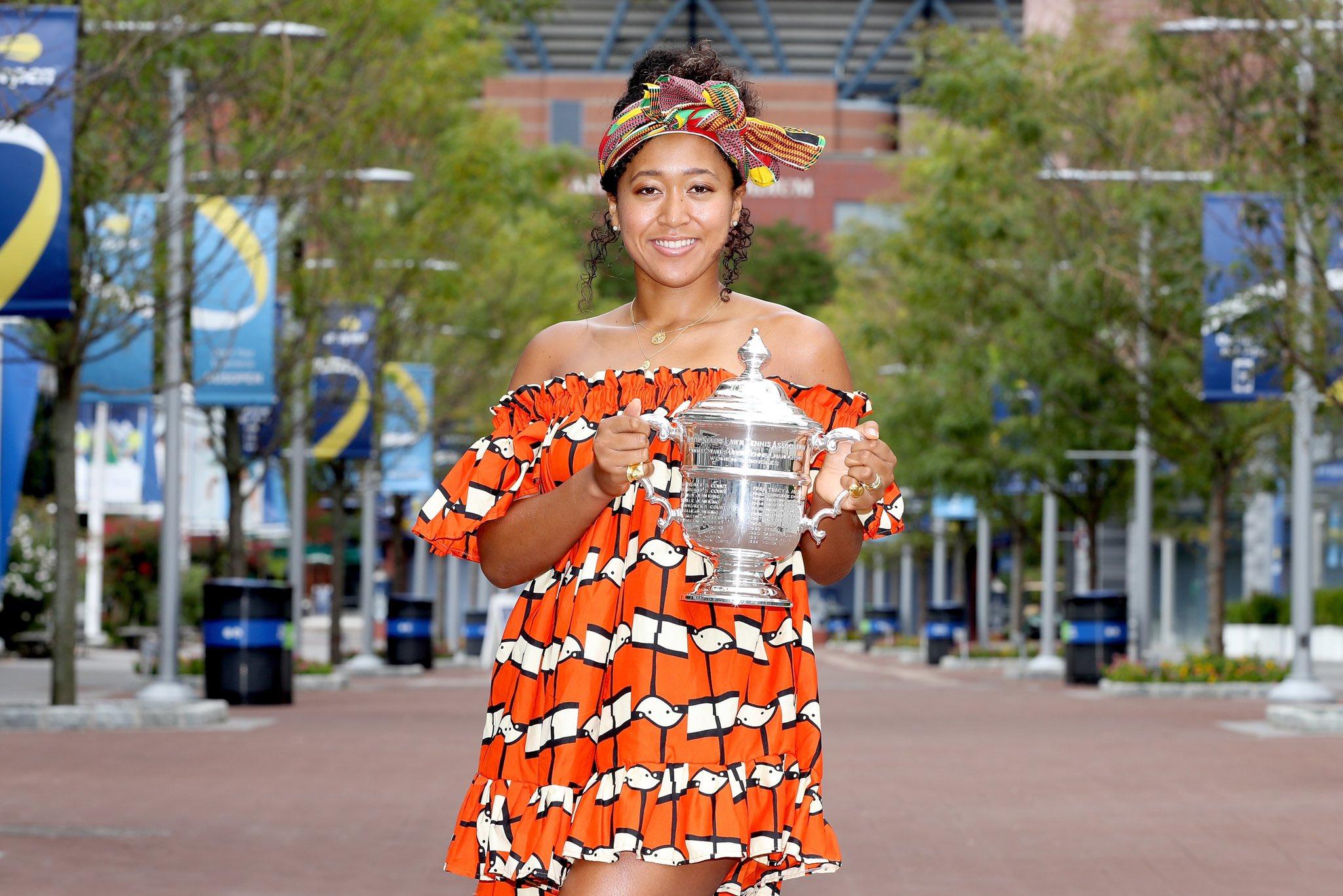 Naomi Osaka defeated Victoria Azarenka in the US Open 2020 women's final match