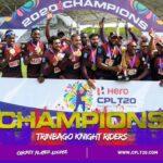 Trinbago Knight Riders won the CPL 2020 title