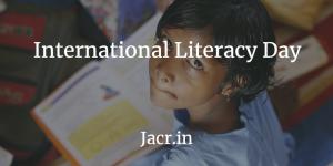 अंतर्राष्ट्रीय साक्षरता दिवस (International Literacy Day
