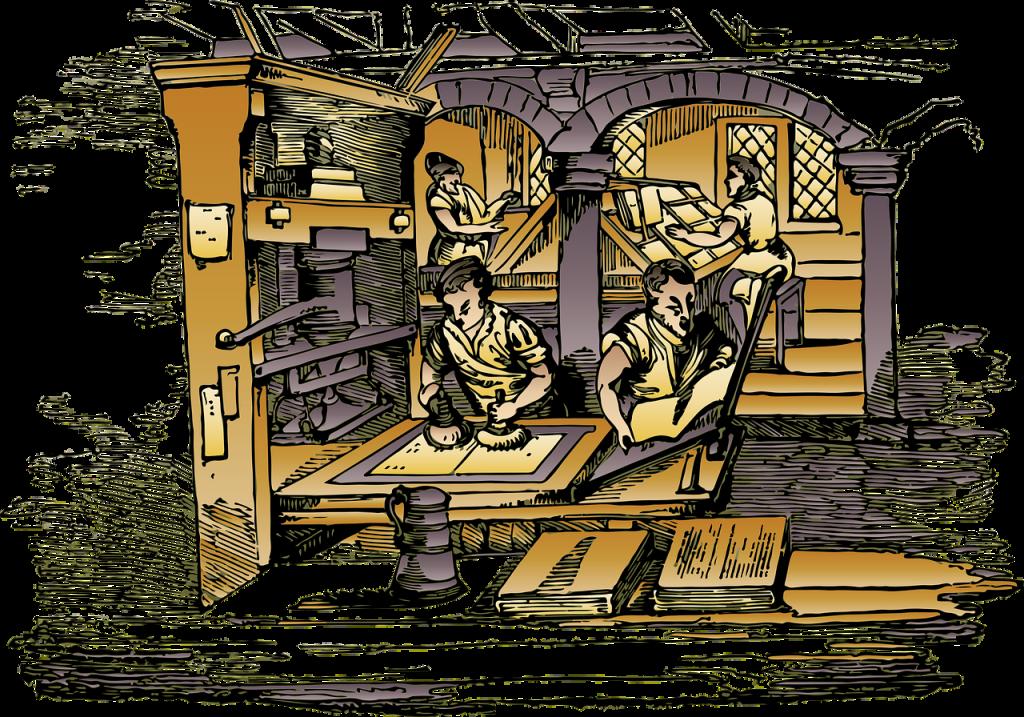 भारत में पहला छापाखाना कब एवं कहाँ खोला गया? (the first print house opened in India)